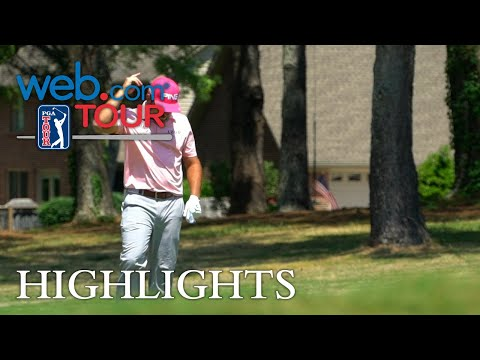 Stephan Jaeger's hole-out birdie for Shot of the Day
