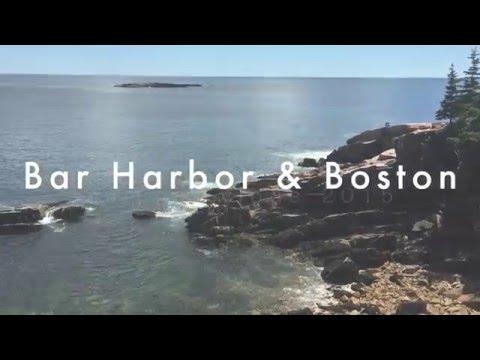 Bar Harbor & Boston || The Summer Vlogs
