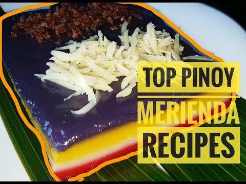 Top Pinoy Merienda Recipes (2018)