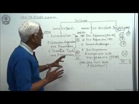 How To Study Economics for CBSE Class XI by S K Agarwala