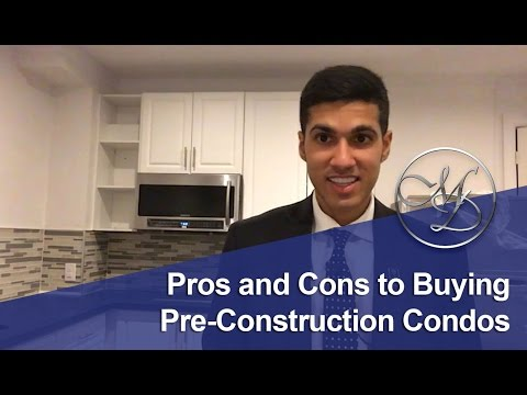 The Pros and Cons of Buying a Pre-Construction Condo - Toronto Real Estate