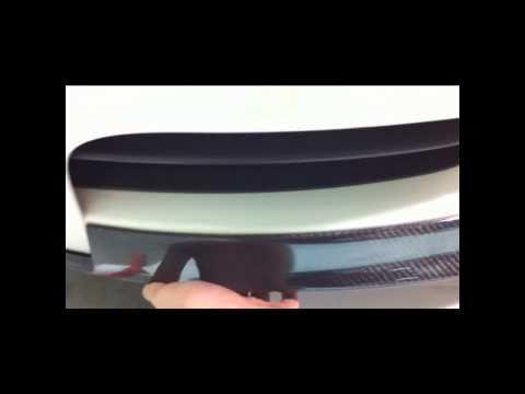 iCarbon BMW E82 1 Series iCS Front Lip Installation
