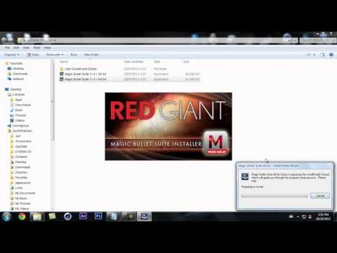 How to get Magic Bullet Looks for Sony Vegas Pro 12 For free