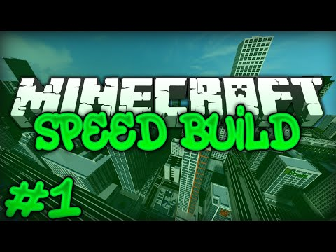 Minecraft Speed Build - City #1