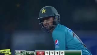 Shoaib Malik innings - Pakistan vs World XI 3rd T20 International Gaddafi Stadium Lahore