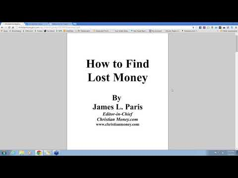 How To Find Lost Money And Unclaimed Funds