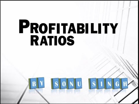 Accounting Ratios II Profitability Ratios II Formula II Example II Motive II Presentation