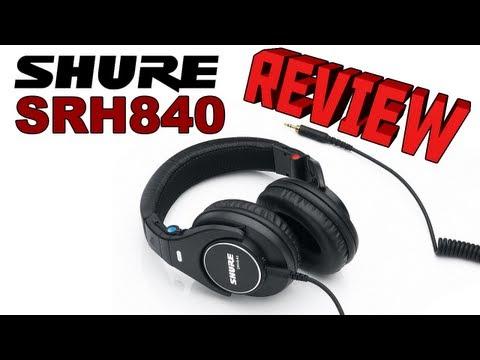 Shure SRH840 Professional Studio Monitoring Headphones Review