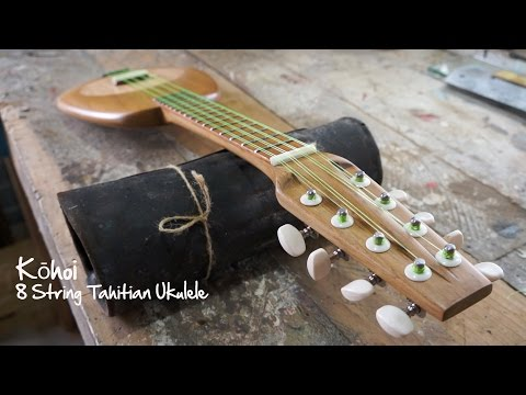 Tahitian Influenced 8 String Ukulele Build