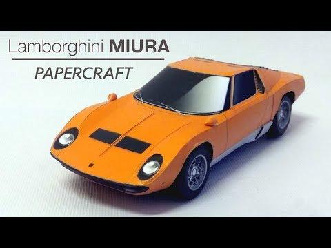 Lamborghini Miura PaperCraft