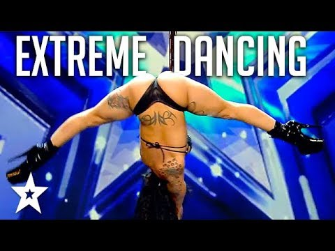 EXTREME POLE DANCER Shocks Audience on Spain's Got Talent 2018   Got Talent Global
