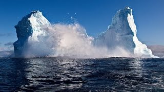 Iceberg Crashing in Greenland - Spectacular Rare Footage Ever