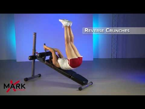 XMark Adjustable Ab Bench - XM-7608 - Get a Rock Hard Core Workout