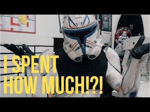 Clone Trooper Armor Walk Through - Star Wars Cosplay