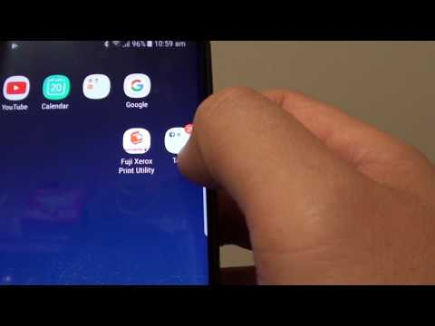 Samsung Galaxy S8: How to Create a Folder on Home Screen and Group Apps