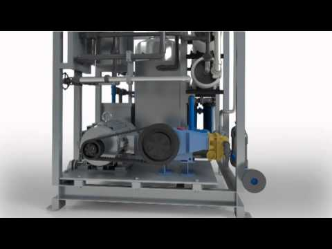 STS Reverse Osmosis Watermaker Desalination Process