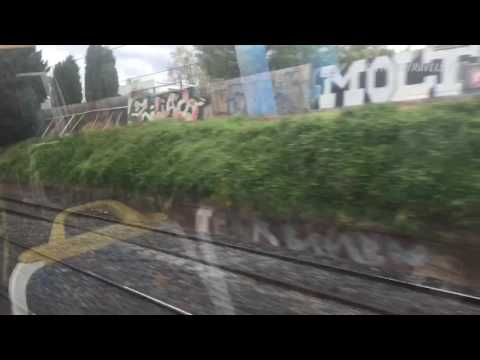 Melbourne Train Ride: Caulfield To South Yarra September 2016