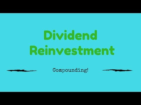 Stock Market for beginners - Dividend reinvestment