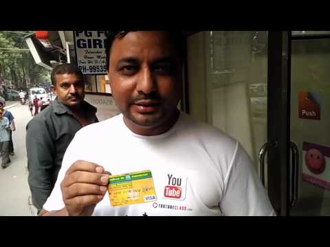 Live Withdrawal of 12000 Rupees from ATM by Rinku Sharma in Hindi OR Urdu # hellohaat#