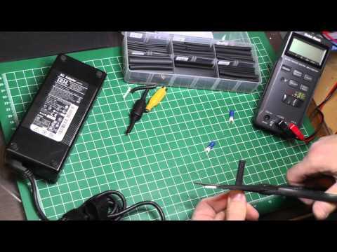 Laptop Power Supply for Model Railroad Lighting