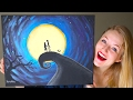 Painting A Nightmare Before Christmas Scene! GIVEAWAY!