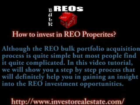 Reo properties home: What are REO Properties ?