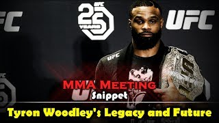 MMA Meeting Snippet: Tyron Woodley