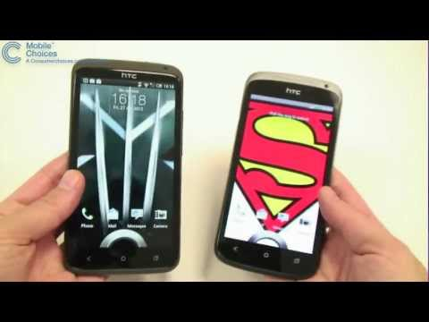 HTC One S vs. HTC One X - What is different between the One S and One X HTC smartphones?