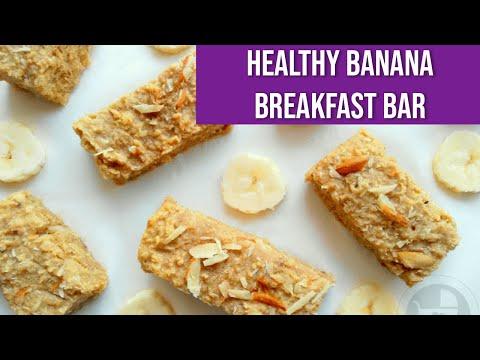 Healthy Banana Breakfast Bar