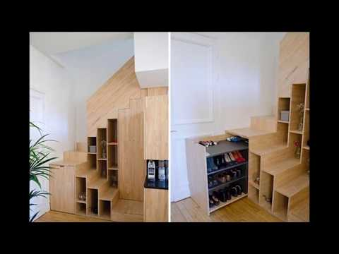 Part 2 - Space Saving Staircase Design Ideas
