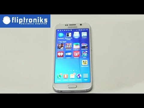 Samsung Galaxy S6: Deleting The Internet Browsing History - Fliptroniks.com