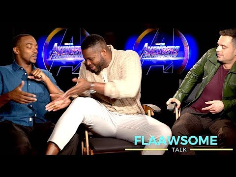'AVENGERS' Cast On Who's Got Bigger Thighs + Squatting And Smelly Costumes (Infinity War INTERVIEW)