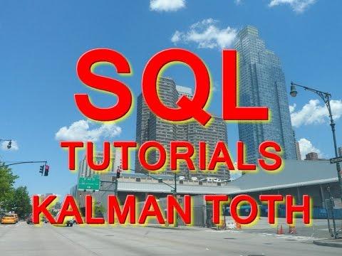 Import Excel data into SQL Server 2014 Database by Kalman Toth