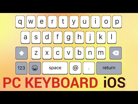 How To Turn Your iPhone or iPad into a Temporary Keyboard for PC
