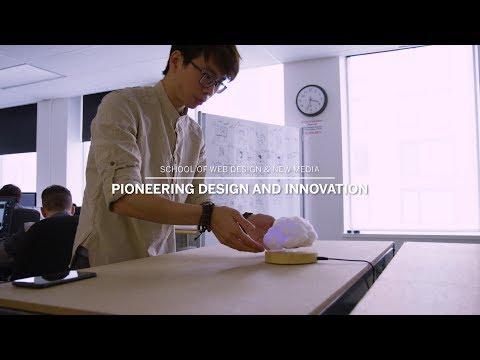 School of Web Design & New Media - Pioneering Design and Innovation