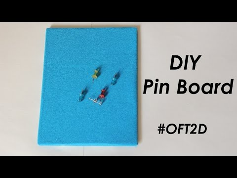 Make your own DIY Pin Board #OFT2D