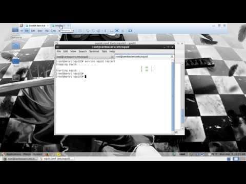 Configuración de Proxy SQUID CentOS 6.6