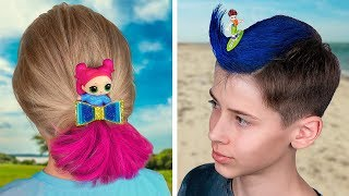 10 Cute Hairstyle Ideas For Kids