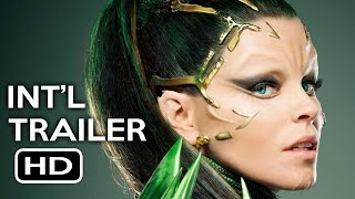 Power Rangers Official International Trailer #1 (2017) Bryan Cranston, Elizabeth Banks Movie HD