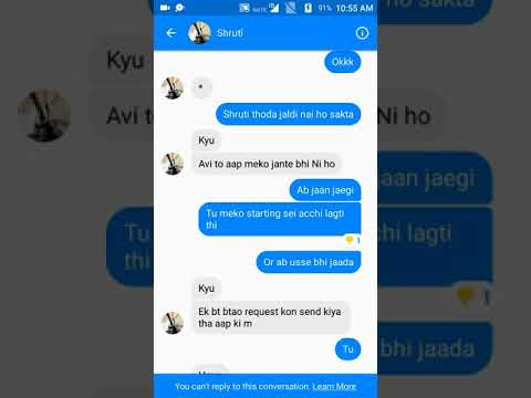 How to impress any cute girl in messenger in simple chat only try .Now it's really working guYs....