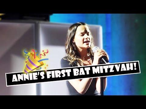 Annie's First Bat Mitzvah 🎉 (WK 382.4)   Bratayley