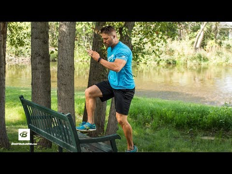 Outdoor Gym Workout | Flex Friday with Trainer Mike
