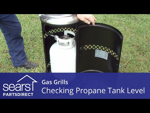 Checking the Propane Level on an LP Tank