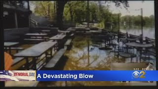 Flooding, COVID-19 Deal Devastating Blows To Businesses Along The Water On Memorial Day Weekend