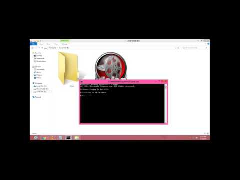how to super hide folder by using cmd