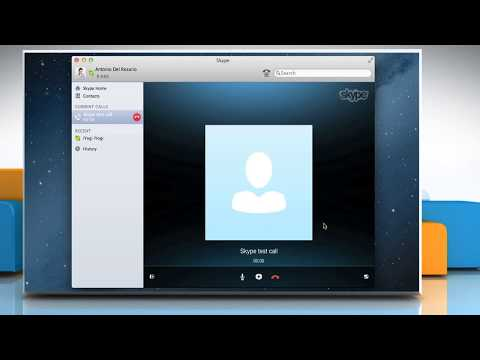 How to Make a Test Call in Skype® for Mac® OS X™