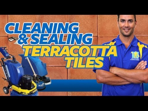 Sealing Terracotta Tiles - Terracotta Tile Cleaning