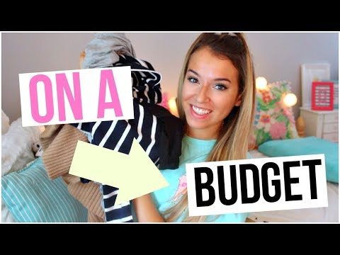 Shopping On A Budget: Back To School Clothing Haul 2017!