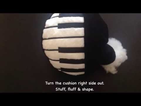 Music Plush Cushion