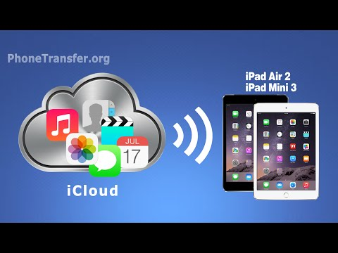 [iCloud to iPad]: How to Transfer All Data from iCloud to iPad Mini 3, iPad Mini 2, iPad Mini 4